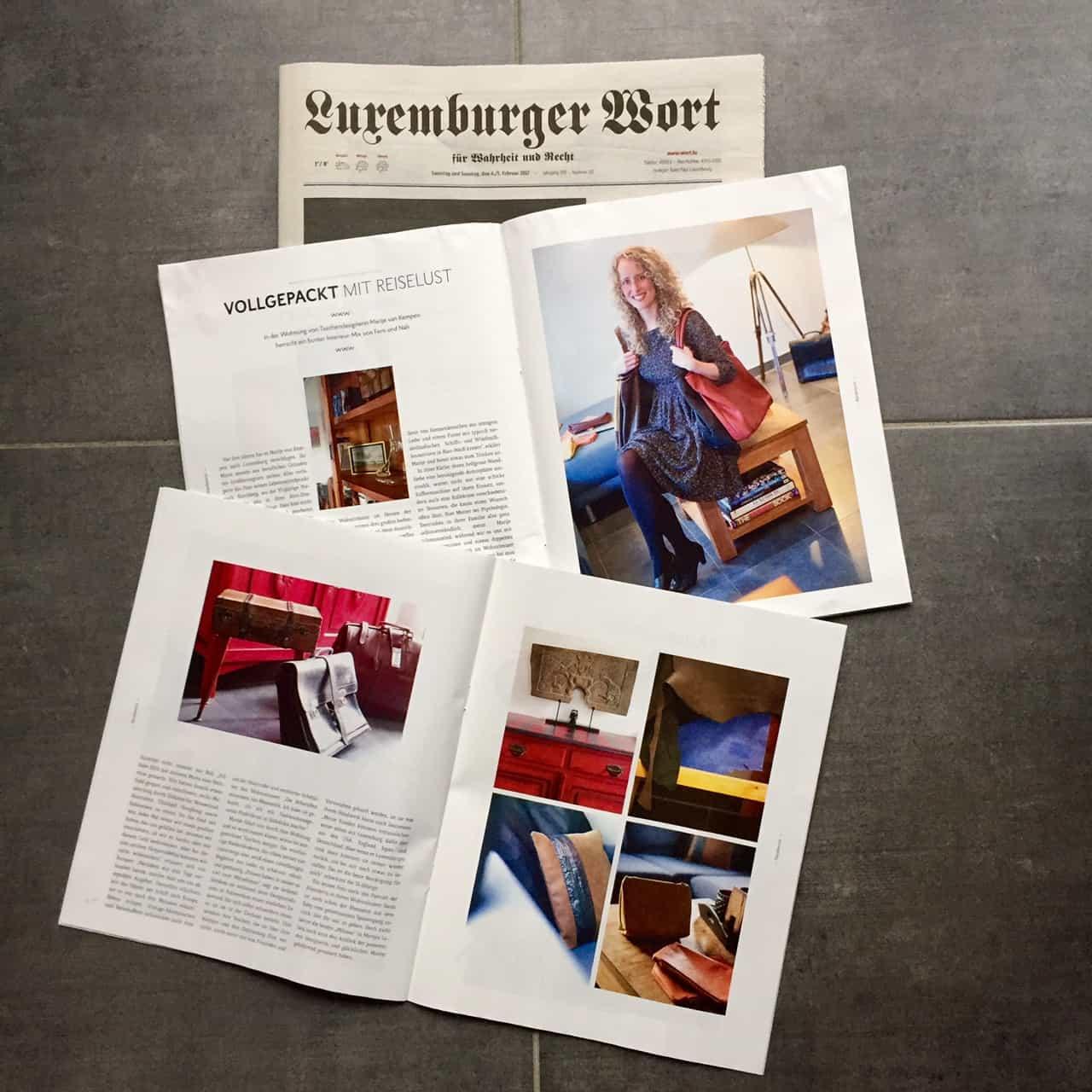 Luxemburger Wort Wortex Interview Vank Design
