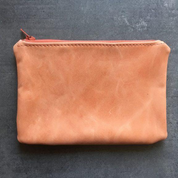 Pink wallet leather | Vank Design