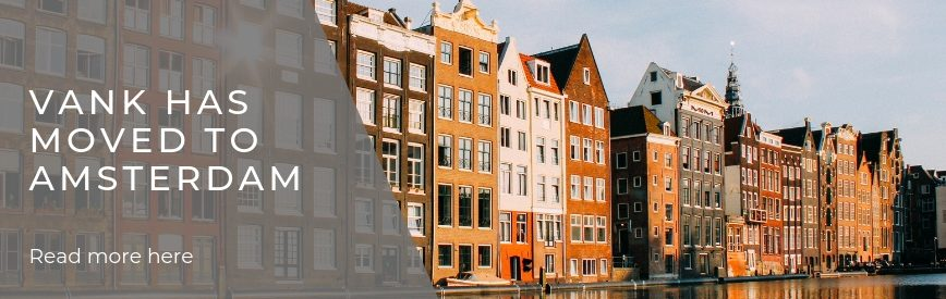 VANK Design has moved to Amsterdam